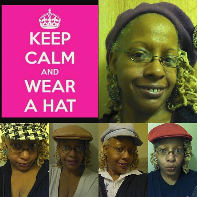 Keep Calm and Wear A Hat