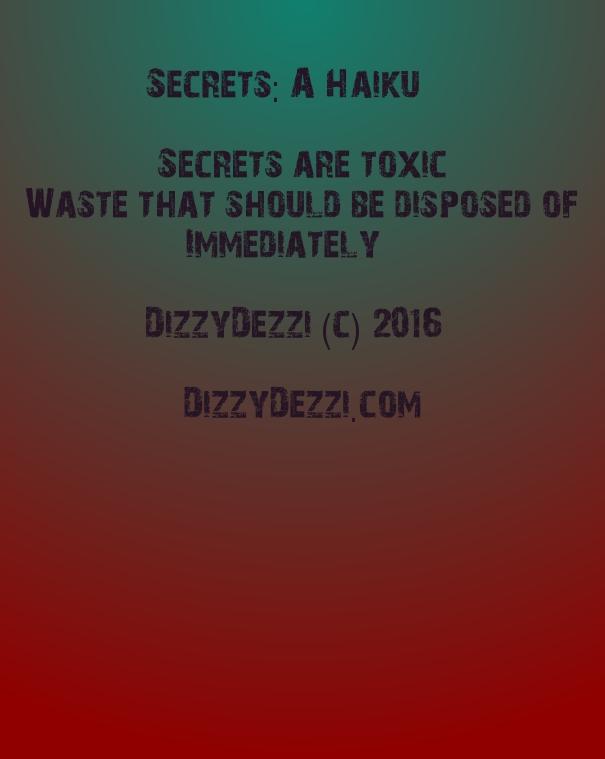 Secrets: A Haiku