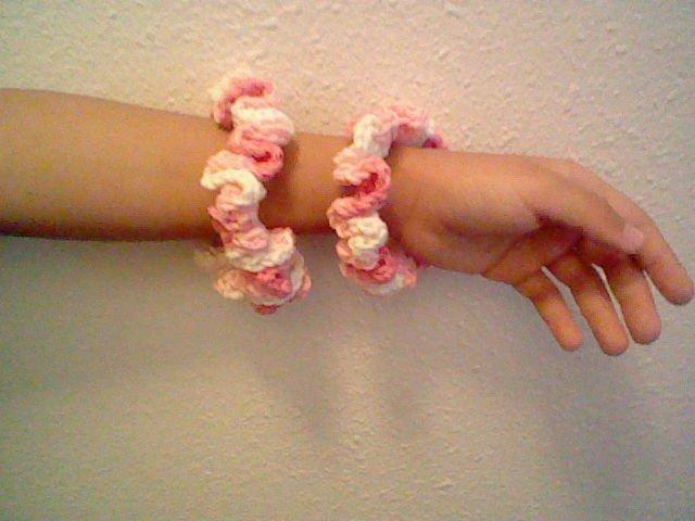 Strawberry Scrunchies