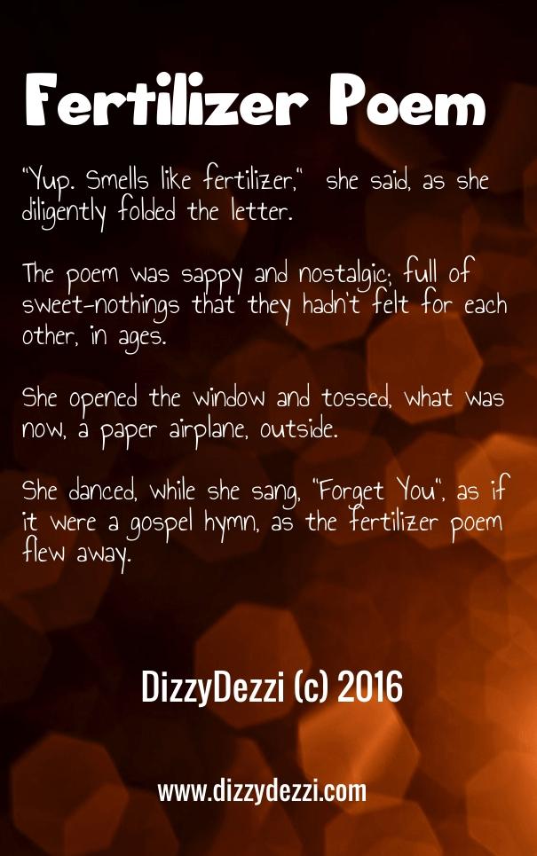 Fertilizer Poem