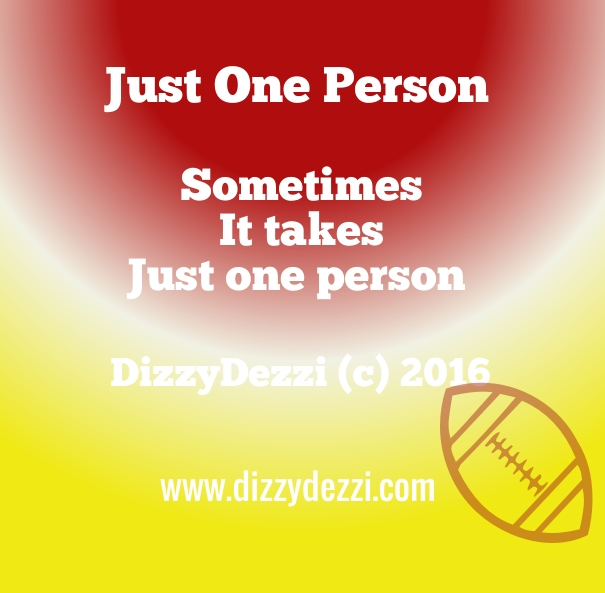 Just One Person