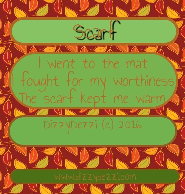 Scarf: A Haiku