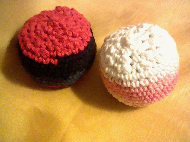 Crocheted Hacky Sacks