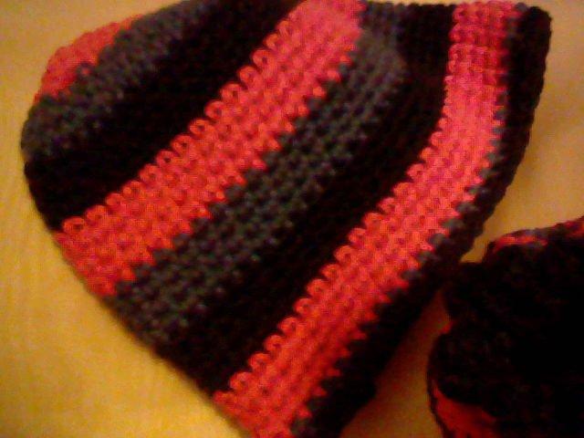 Striped Beanie Cap