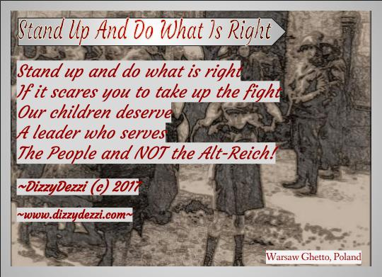 Stand Up And Do What Is Right