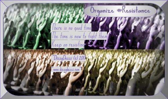 Organize #Resistance