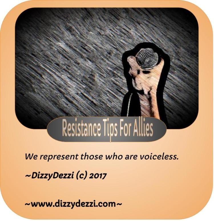 Resistance Tips For Allies