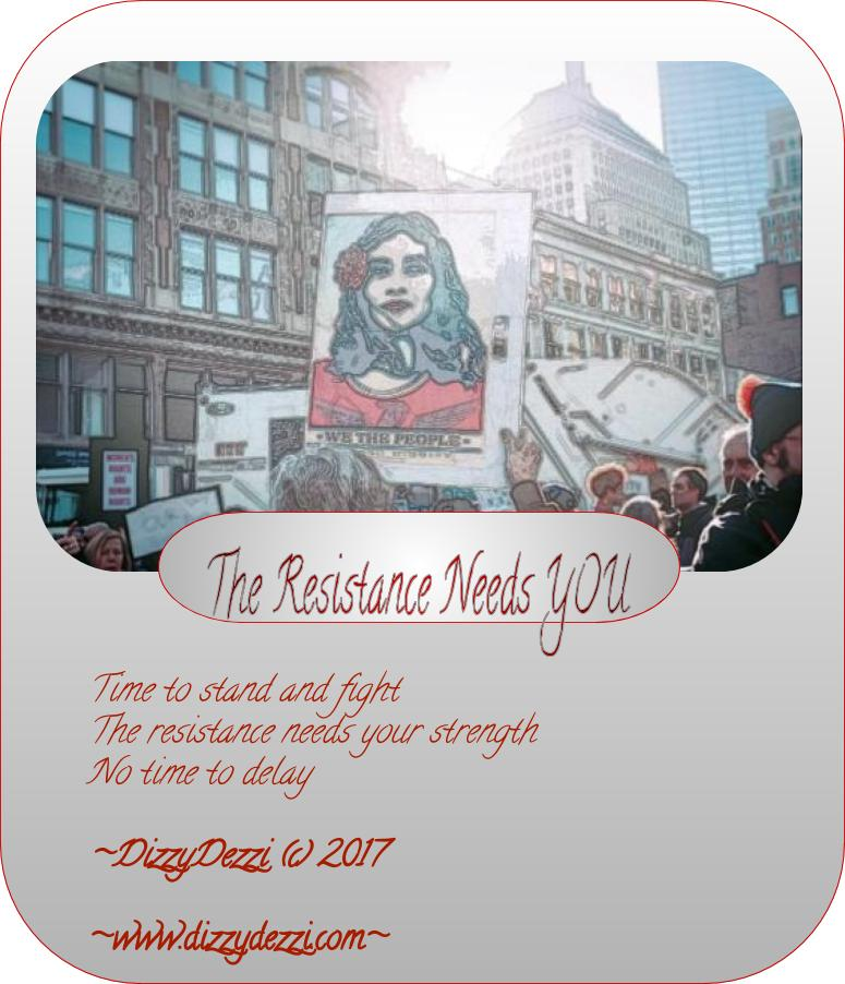 The Resistance Needs YOU