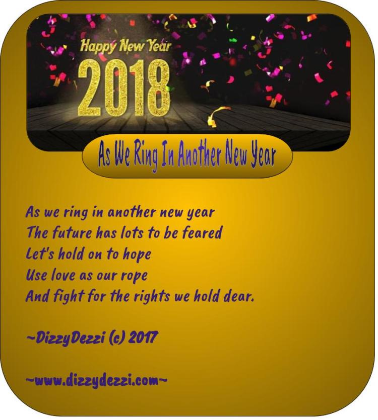As We Ring In Another New Year
