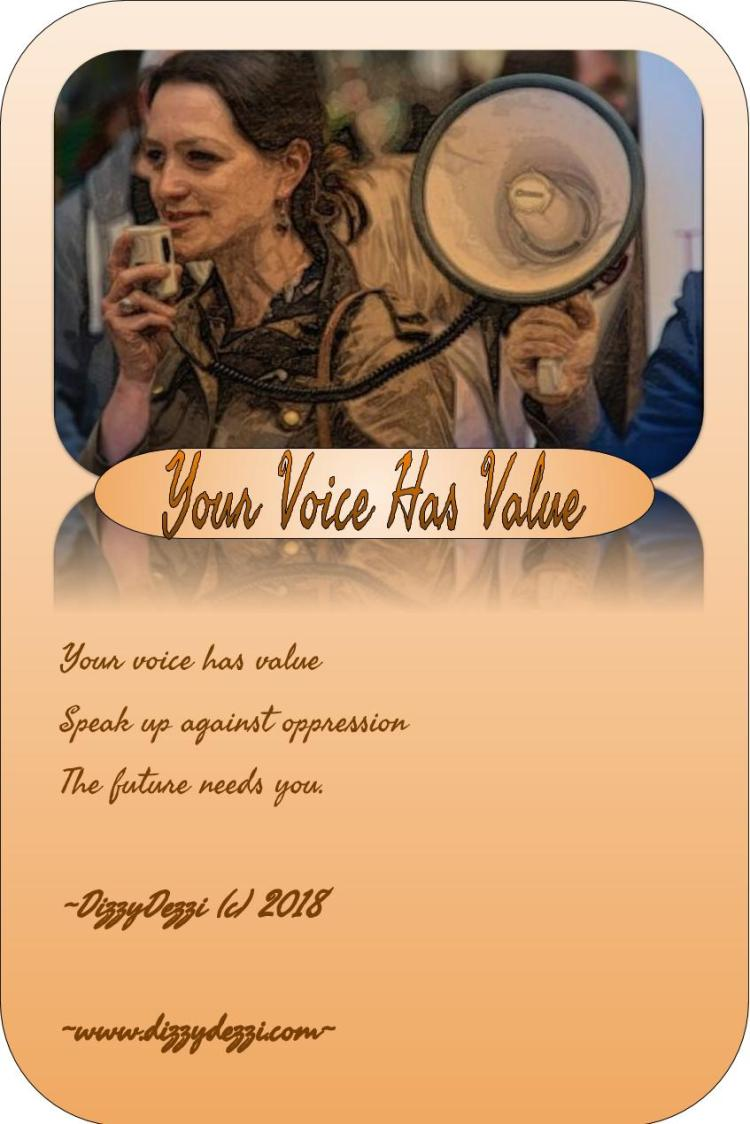 Your Voice Has Value